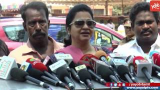 Radhika Sarathkumar Speaks after Casting Her Vote Producers Council Election | YOYO TV Tamil