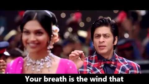 ankhon mein teri  om shanti om with eng translations