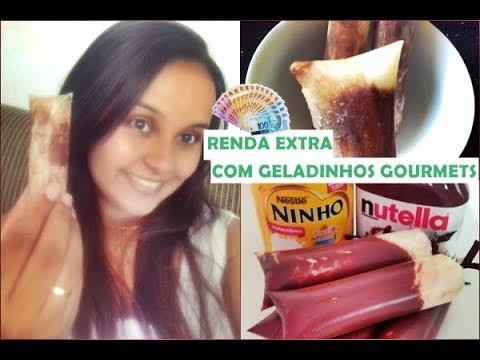 FAÇA E VENDA – GELADINHO GOURMET DE NINHO COM NUTELLA (COMO  GANHAR DINHEIRO EM CASA)??