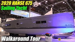 2019 Hanse 675 Sailing Yacht - Deck and Interior Walkaround - 2019 Boot Dusseldorf