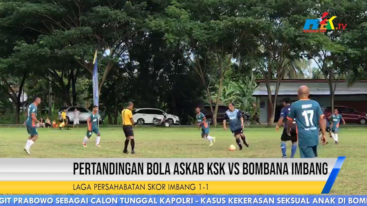Pertandingan Bola Askab KSK Vs Bombana Imbang