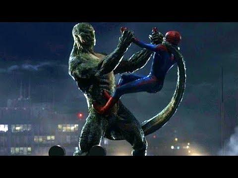 Spider-Man vs The Lizard Final Fight Scene - The Amazing ...