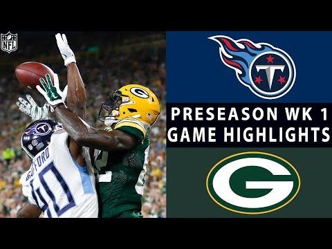 Titans vs. Packers Highlights | NFL 2018 Preseason Week 1
