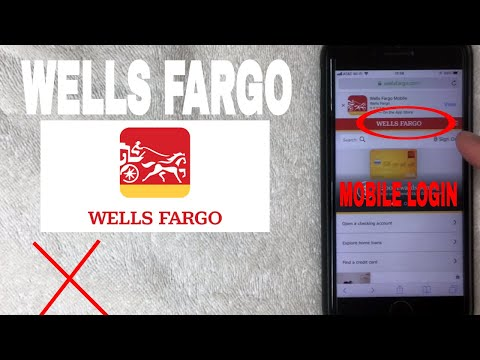 ✅  How To Register Log In Find Password Account Wells Fargo Bank Mobile Website 🔴