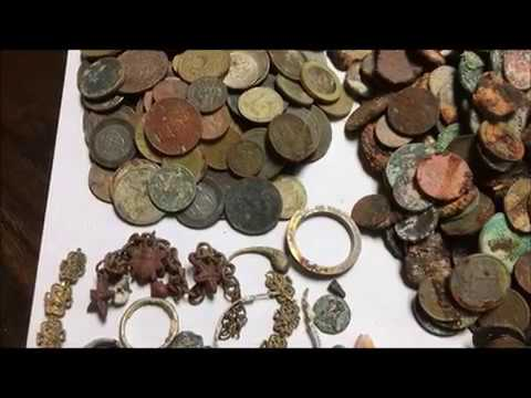 Real Gold Treasures Found On  Dominican Republic Beaches