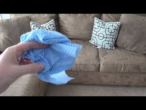 Budget Cleaning Tips: {how To Clean A Microfiber Couch And