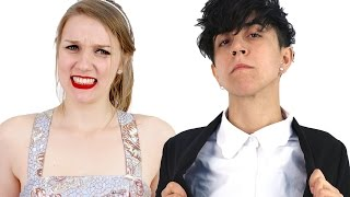 Women Try On ASOS Formal Wear