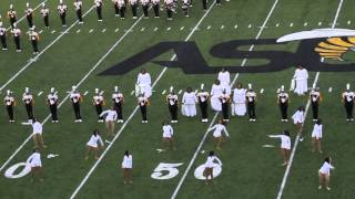 Alabama State MMH Halftime Performance (Prarie View