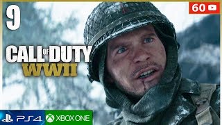 CALL OF DUTY WW2 Español Gameplay Mision 9 PS4 | Campaña Completa Parte 9 (1080p 60fps)