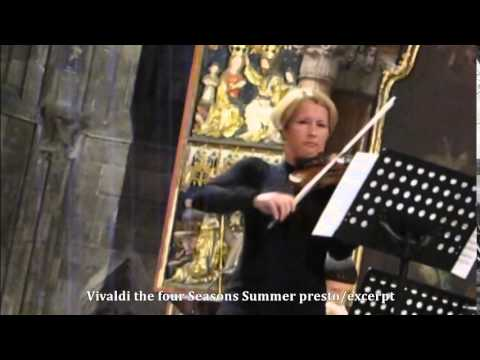 Vivaldi the four seasons -summer presto /excerpt