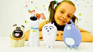 Званый ужин на День рождения Гиджет - Видео с игрушками