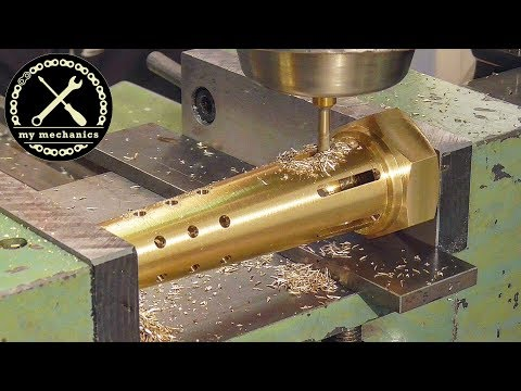 I Make A New One! Making New Parts On Lathe & Mill For Restoration Projects (compilation Part 1)