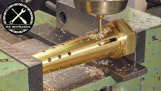 I Make A New One! Making new parts on lathe & mill for resto...