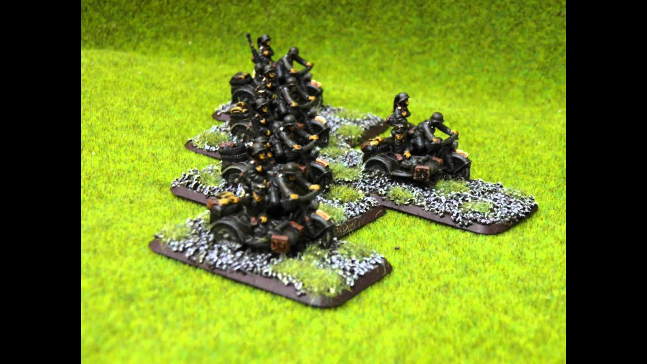 Wehrmacht Troops - Flames of War Open Fire - WeeWarrior com miniatures  painting service