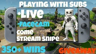nintnedo switch fortnite (MARSHMELLOW SKIN) stream 43