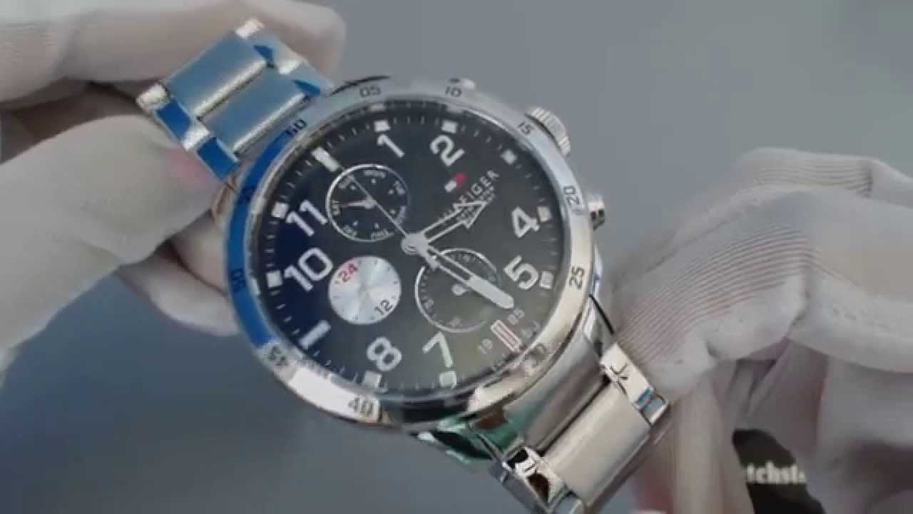 29a91108 Men's Tommy Hilfiger Cool Sport Multi Function Watch 1791141 - YouTube