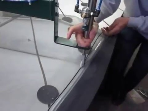 Screen Table For Window Manufacturing By Wakefield Equipment