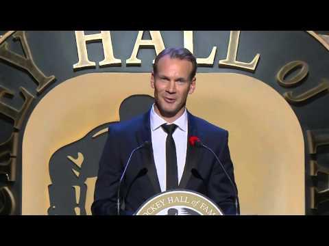 Nicklas Lidstrom Hockey Hall of Fame Induction Speech (2015)