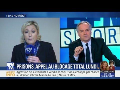 Vendin-le-Vieil: Marine Le Pen va demander une commission d'enquête parlementaire