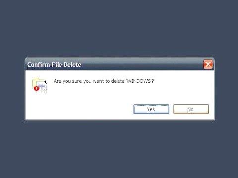 Как снести Windows 8
