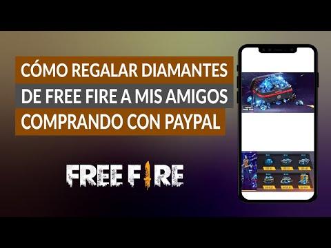 Cómo Regalar Diamantes de Free Fire a mis Amigos Comprando con PayPal