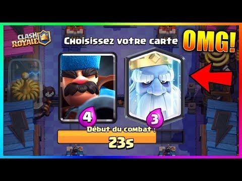 Clash Royale - INCROYABLE NOUVEAU DÉFI DU TIRAGE DU CHASSEUR + PACK OPENING DES NOUVEAUX COFFRES !