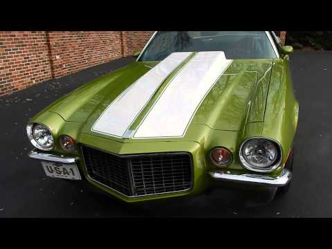 SOLD! 1971 Camaro Rally Sport for sale Old Town Automobile in Maryland