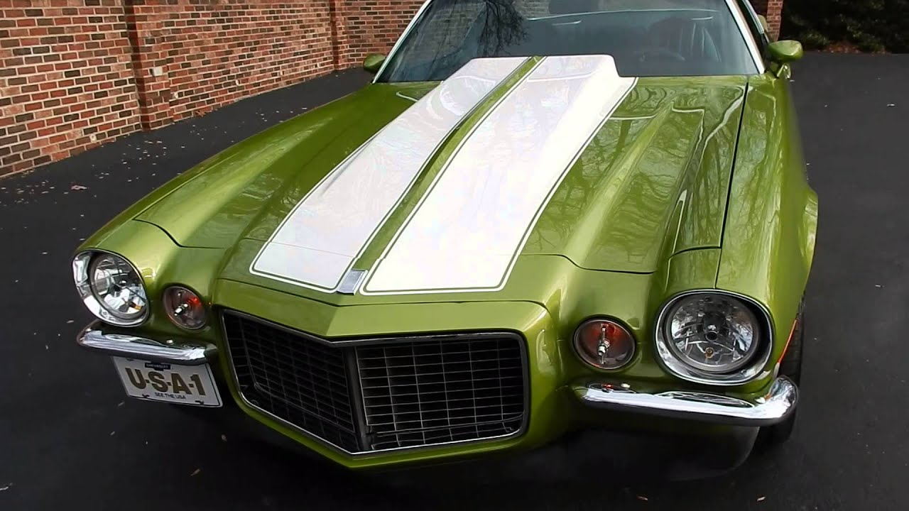 SOLD! 1971 Camaro Rally Sport for sale Old Town Automobile in ...