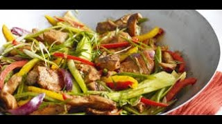 Как приготовить стир-фрай из свинины