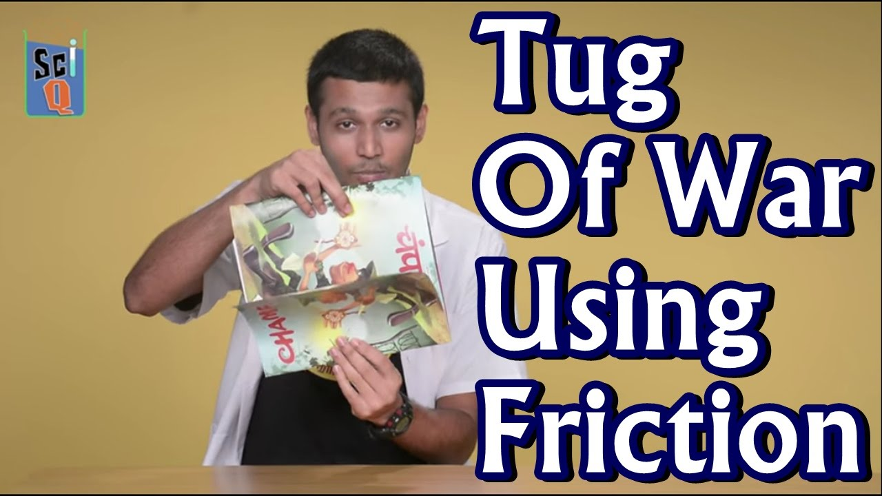 Tug Of War Using Friction - Kids Science Experiments - YouTube
