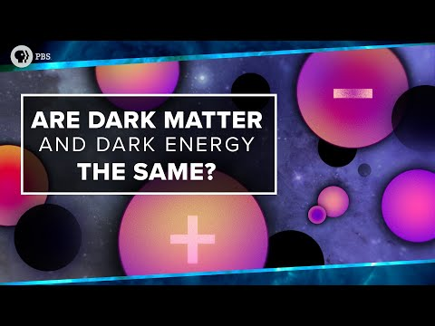 Are Dark Matter And Dark Energy The Same?