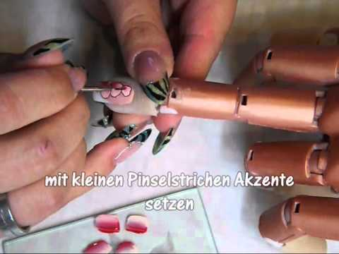 nailart one stroke anleitung f r nageldesign anf nger youtube. Black Bedroom Furniture Sets. Home Design Ideas