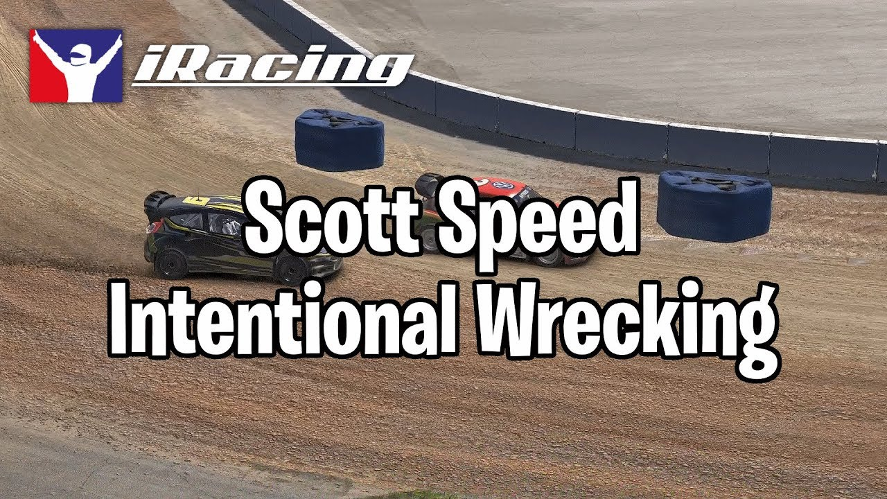 Pro driver gets suspended from iRacing for wrecking his