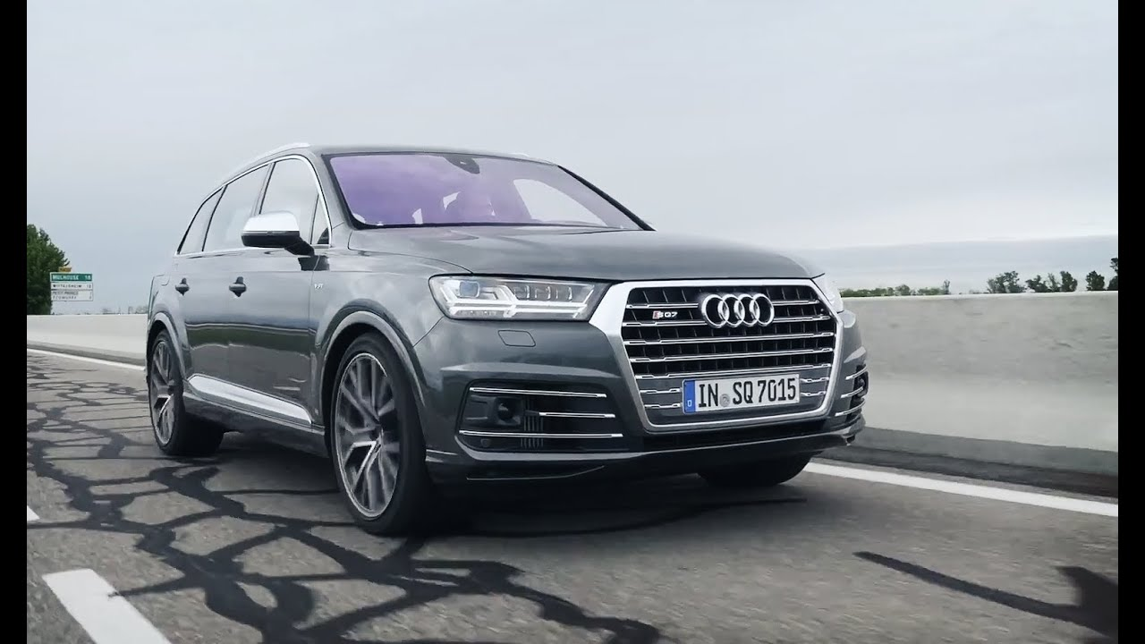 Обзор Audi Sq7 2016 АвтоВести Online Youtube