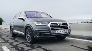 Обзор Audi SQ7 2016 // АвтоВести Online