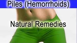Piles (Hemorrhoids) Treatment - Natural Internal and External Piles (Hemorrhoids) Treatment