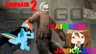 CS GO Rainbow Dash Jakka Jan