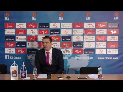 Press konferencija (LIVE) KK Cibona - KK Mega Bemax