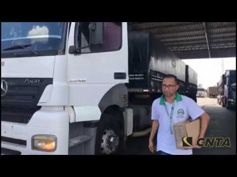 Ação preventiva com caminhoneiros - CNTA