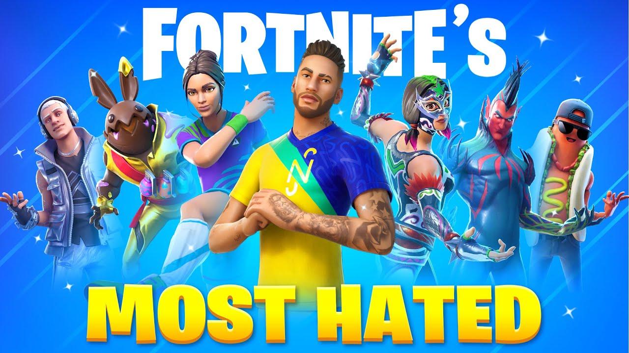 Download 30 MOST HATED Fortnite Skins