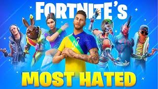 30 MOST HATED Fortnite Skins
