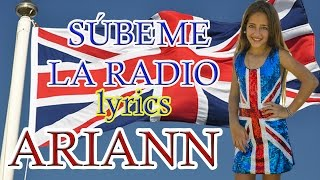 Enrique Iglesias - 📻SUBEME LA RADIO📻  - Ariann Music (Oficial Video Lyrics en español)