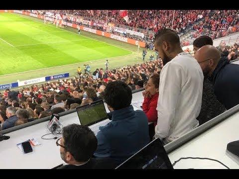 La reacción de Arturo Vidal al ver el polémico penal a favor del Real Madrid