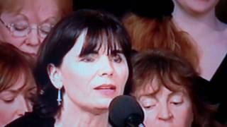 "Rita Connolly sings ""The Deer's Cry"" at Inauguration of Michael D Higgins, President of Ireland"