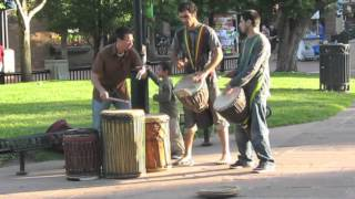 BWA Roots Rhythms ( West African Djembe Music ) BireaDansa:dansa