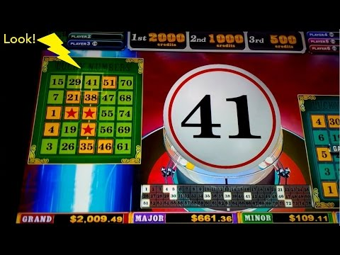 Players' Party Slot Machine - Live Play *BIG WIN* Lucky Numbers Bonus! - 동영상