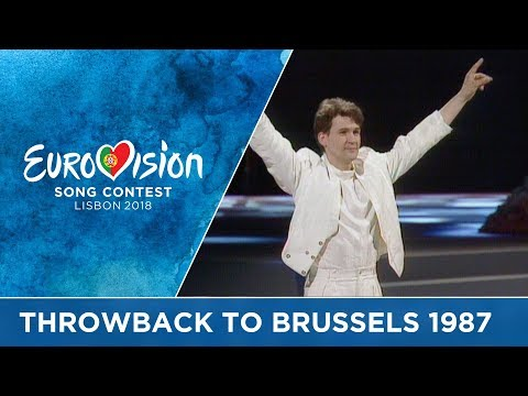 #ThrowbackThursday to 30 years ago: The 1987 Eurovision Song Contest in Brussels