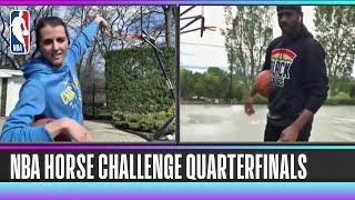 NBA HORSE Competition- Chris Paul vs. Allie Quigley