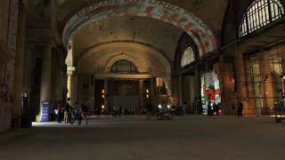 Ford Celebrates Buying Detroit Train Station