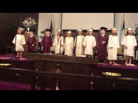 Start Spreading the News - MIfflin County Christian Academy 2012 Kindergarten Graduation